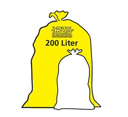 Wertstoffsack 200 Liter