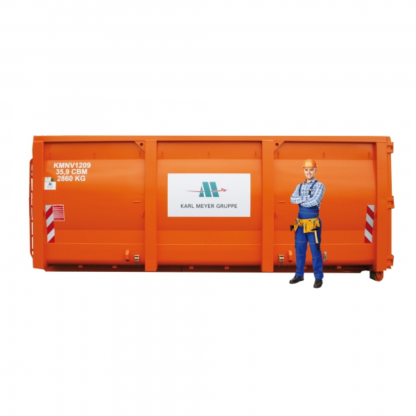 37 cbm Abrollcontainer